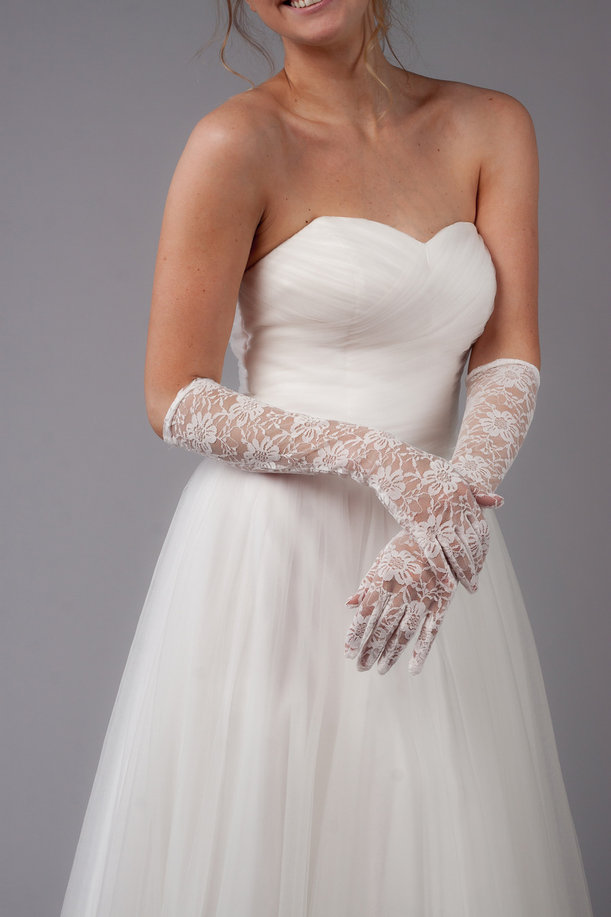 фото перчатки на свадьбу